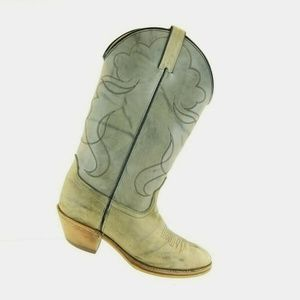 Women's Vintage Acme Dingo marbled leather gray co
